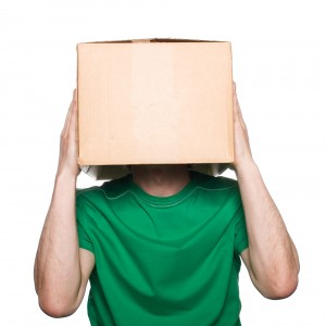 box head man